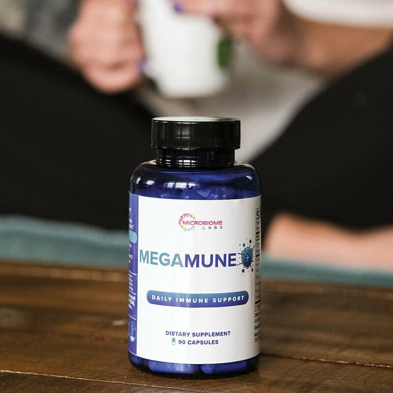 MegaMune 90 capsules Microbiome Labs