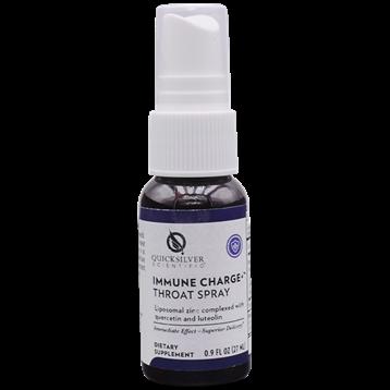 Immune Charge+ Throat Spray ,Quicksilver Scientific,27 ml