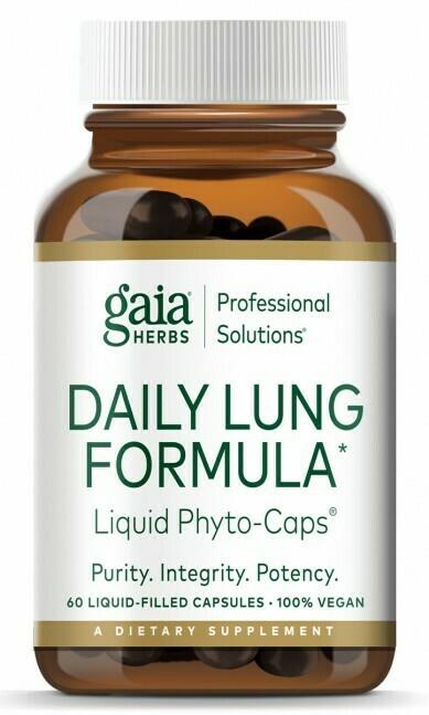 Daily Lung Formula 60 capsules Gaia Herbs
