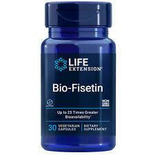 Bio-Fisetin , Life Extension,30 vegetarian capsules