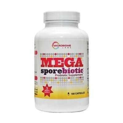 MegaSporeBiotic™ ,Microbiome Labs 180 capsules