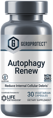 GEROPROTECT Autophagy Renew  30 vegetarian capsules  Life Extension