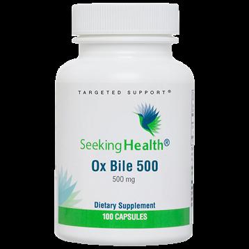 Ox Bile 500 mg 100 caps Seeking Health