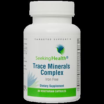 Trace Minerals Complex 30 vegcaps Seeking Health