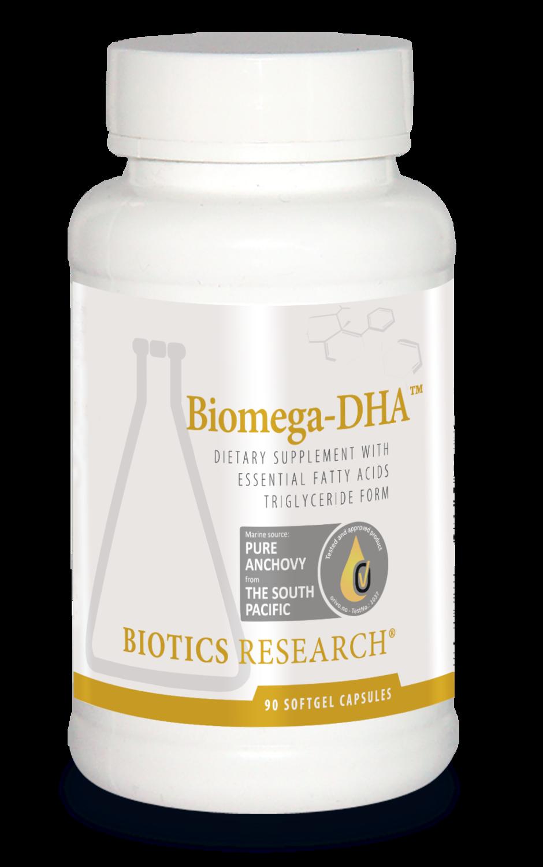 Biomega-DHA 90 capsules Biotics Research