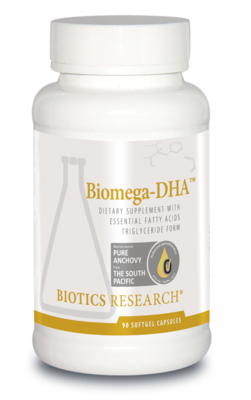 Biomega-DHA 90 capsules Biotics Research