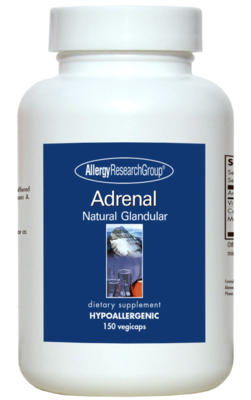 Adrenal 100 mg 150 Vegicaps Allergy Research Group