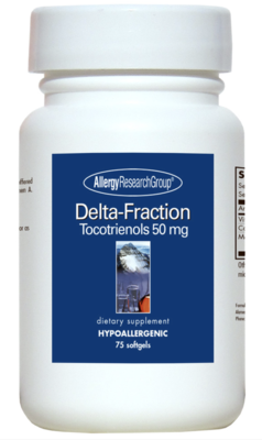 Delta-Fraction Tocotrienols  50 mg 75 softgels Allergy Research Group