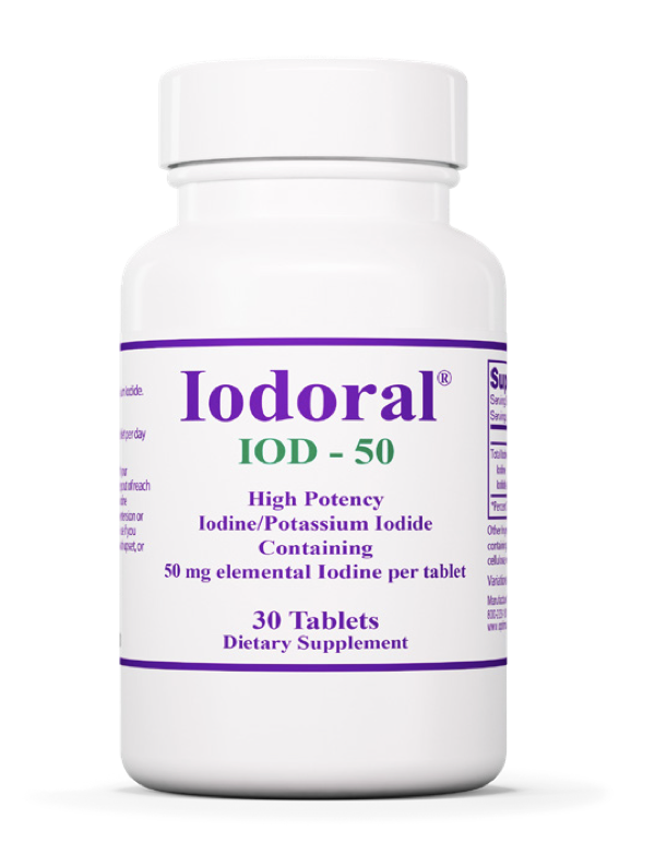 Optimox Iodoral 50 mg 30 tablets Allergy Research Group