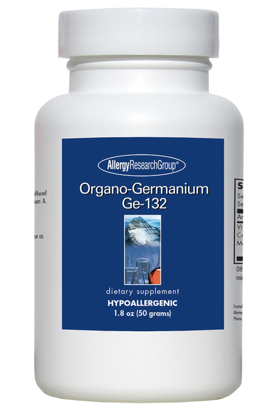 Organo-Germanium Ge-132 Powder 50 grams Allergy Research Group