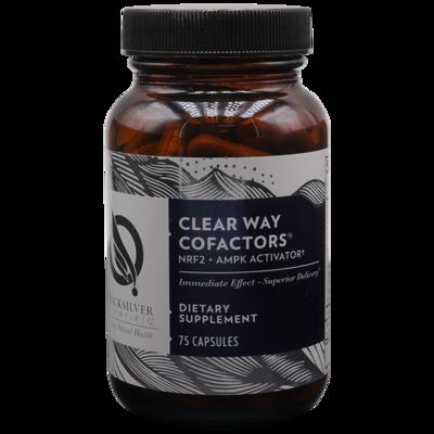 ClearWay Cofactors  75 caps Quicksilver Scientific
