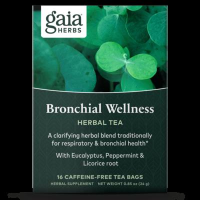Bronchial Wellness Herbal Tea 16 Bags Gaia Herbs