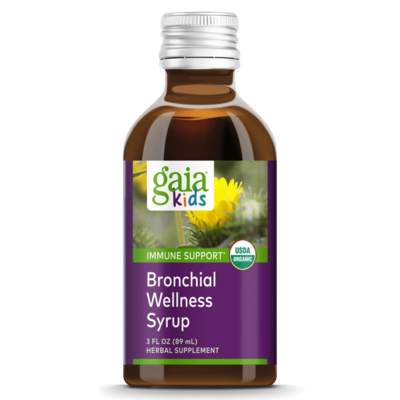 Bronchial Wellness for Kids 90 ml  Gaia Herbs