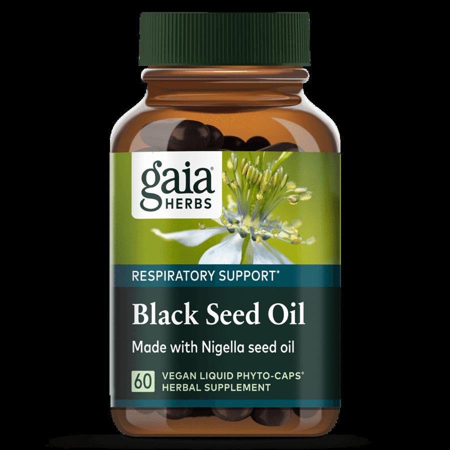 Black Seed Oil  60 caps Gaia Herbs