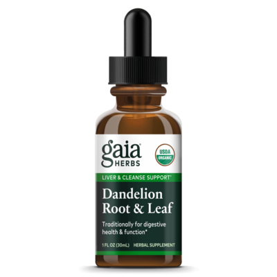 Dandelion Root & Leaf  30 ml Gaia Herbs