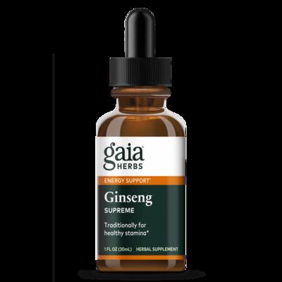 Ginseng Supreme 30 ml Gaia Herbs