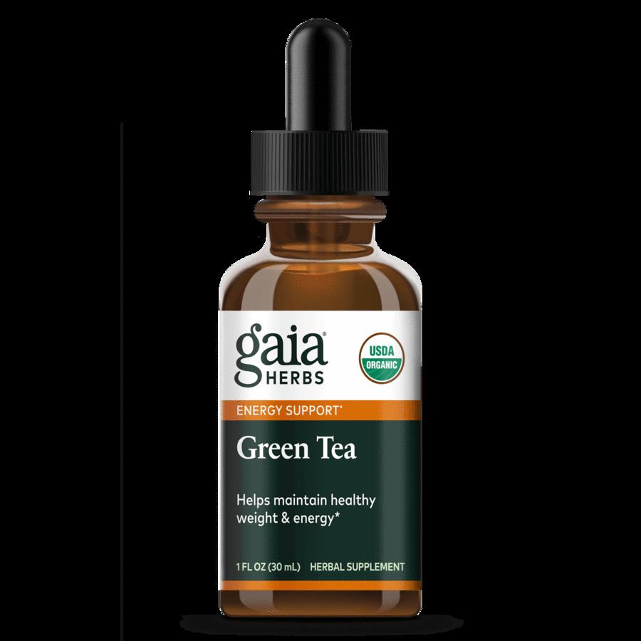 Green Tea Certified Organic 30 ml Gaia Herbs