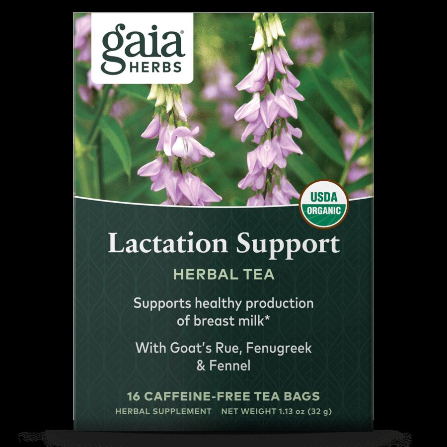 Lactation Support Tea 16 bags Gaia Herbs