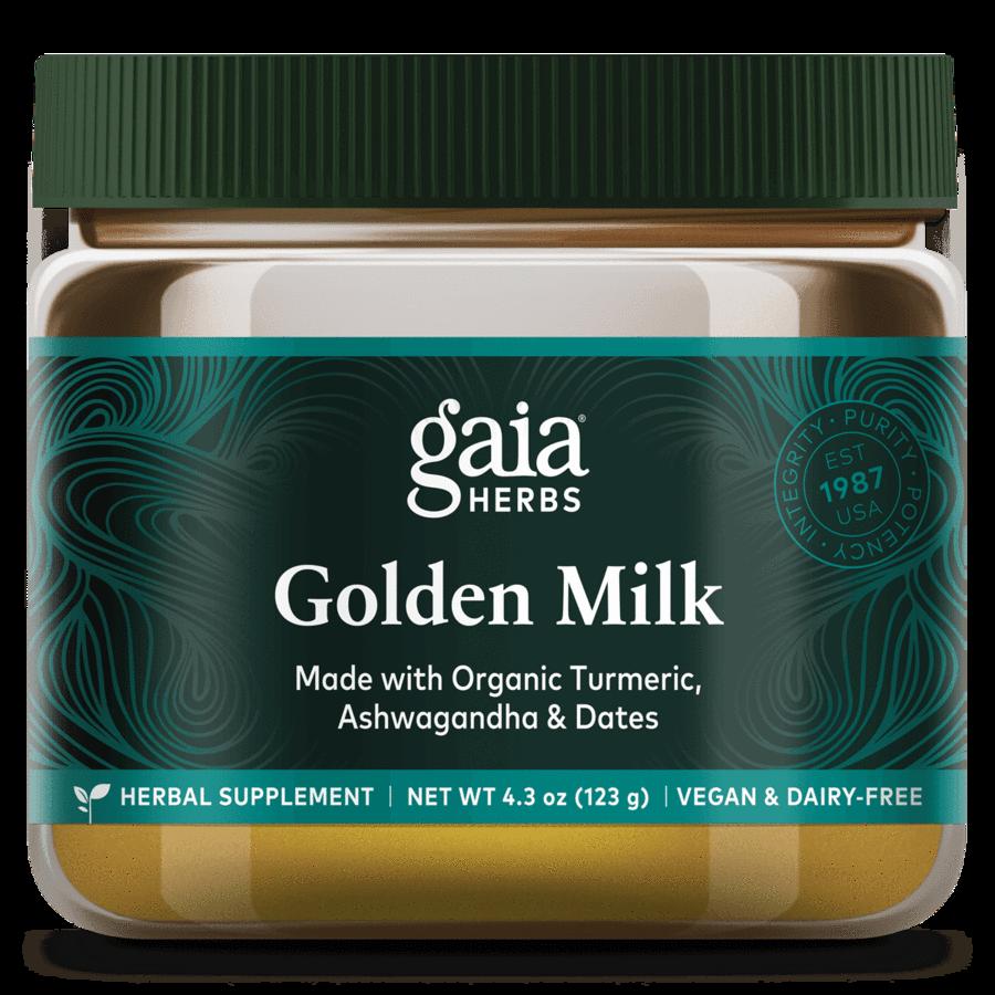 Golden Milk 123 g  Gaia Herbs