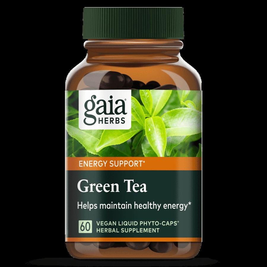 Green Tea 60 capsules  Gaia Herbs