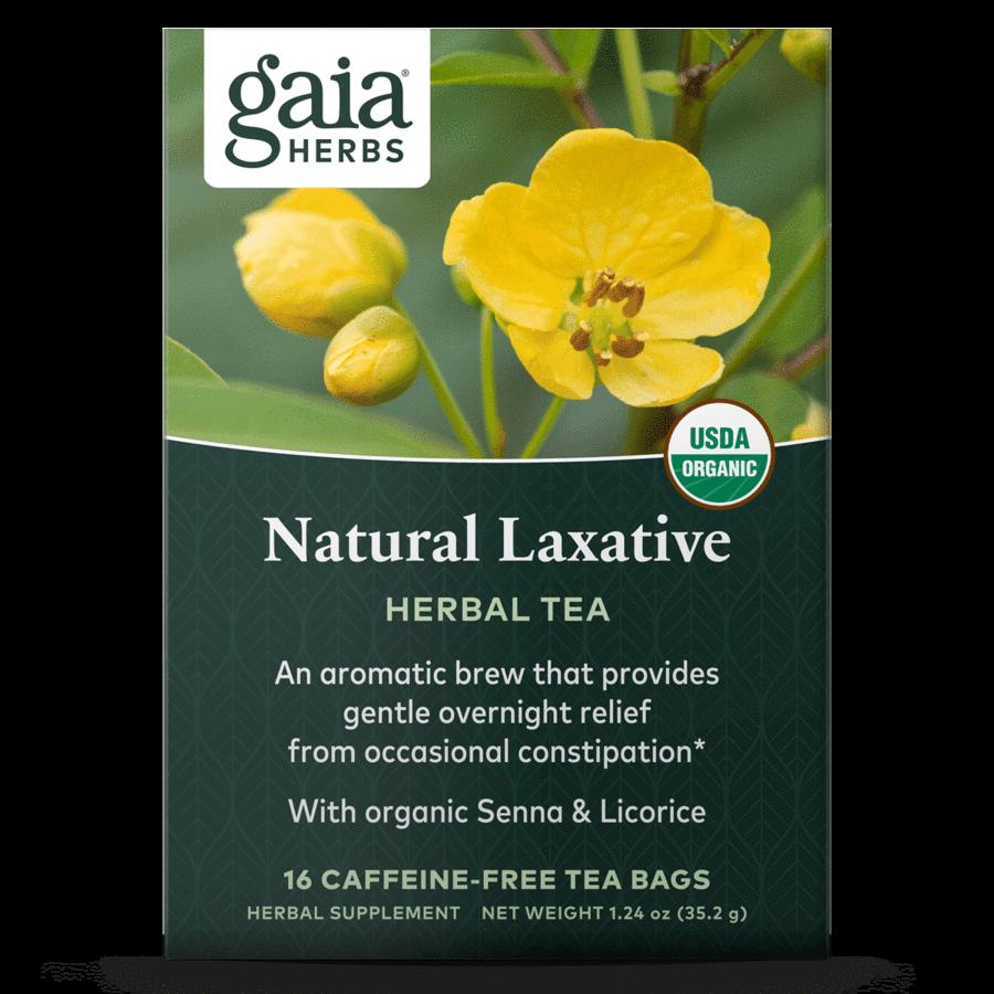 Natural Laxative Herbal Tea 16 bags  Gaia Herbs
