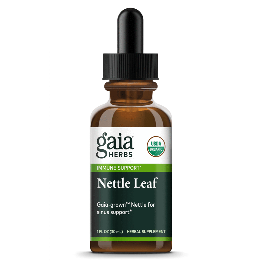 Nettle Leaf Certified Organic 30 ml Gaia Herbs