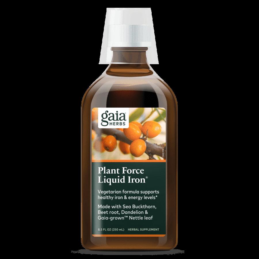 PlantForce Liquid Iron  250 ml  Gaia Herbs