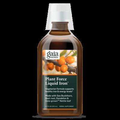 Plant Force Liquid Iron  250 ml  Gaia Herbs