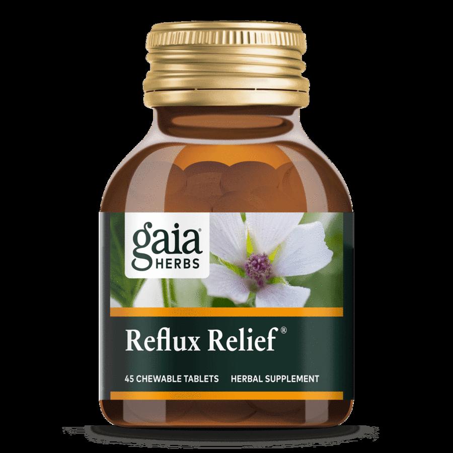 Reflux Relief 45 capsules Gaia Herbs