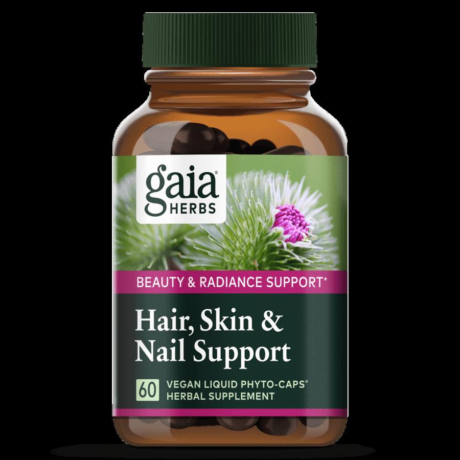 Skin & Nail Support 60 capsules Gaia Herbs