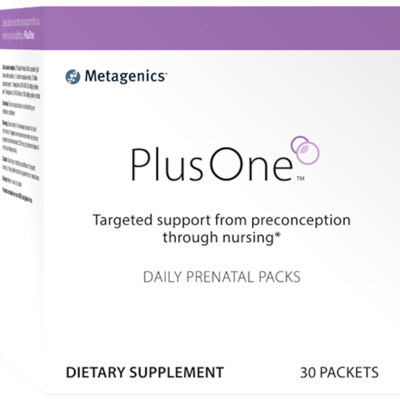 Plus One Daily Prenatal 30 packets Metagenics