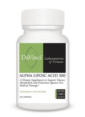 ALPHA LIPOIC ACID ,DaVinci Laboratories  300 mg  ,60 Capsules