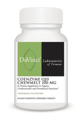 COENZYME Q10 CHEWMELT 100  mg 30 Softgels DaVinci Laboratories