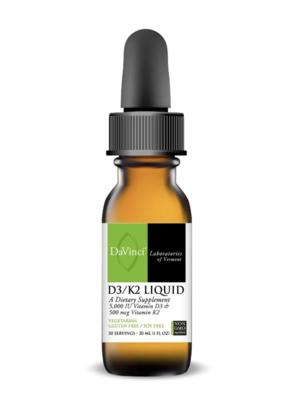 D3/K2 LIQUID 30 ml DaVinci Laboratories