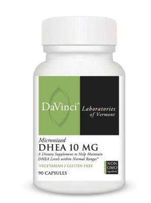 DHEA 10 mg 90 vcaps DaVinci Laboratories