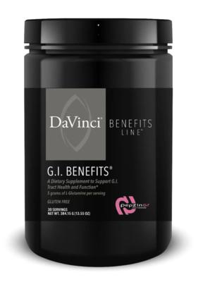 GI BENEFITS 30 servings  DaVinci Laboratories