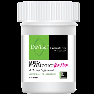 MEGA PROBIOTIC FOR HER  30 portions DaVinci Laboratories