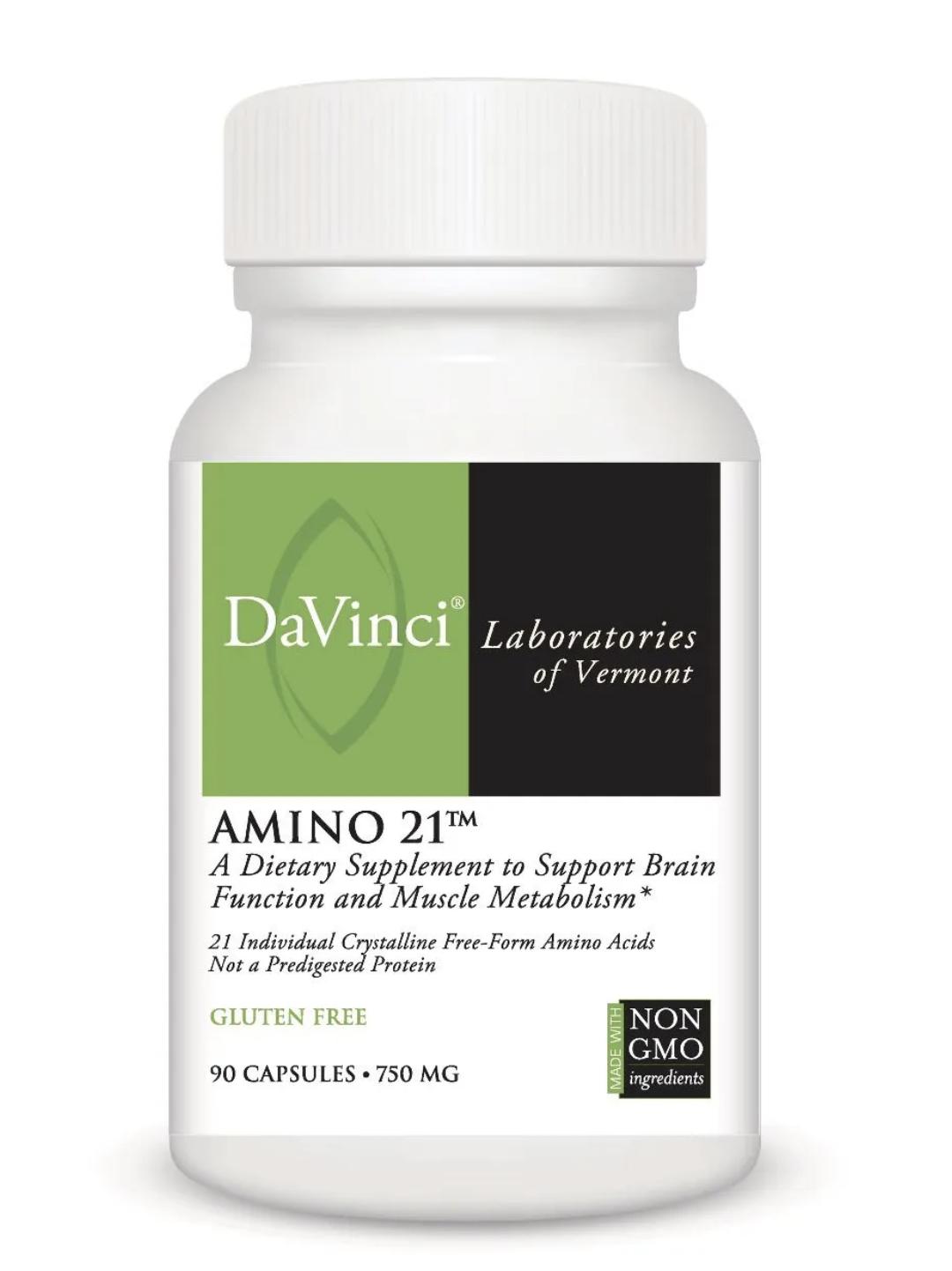AMINO 21  90 capsules DaVinci Laboratories