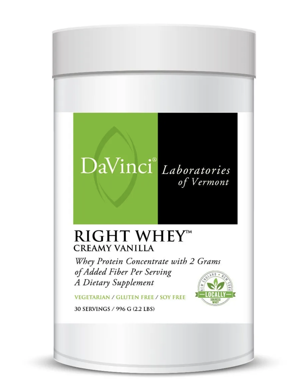 RIGHT WHEY CREAMY VANILLA DaVinci Laboratories 30 Servings
