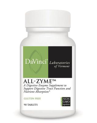 ALL-ZYME 90 capsules DaVinci Laboratories