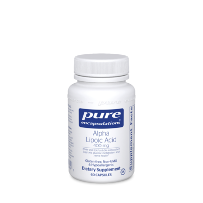 Alpha Lipoic Acid 400 mg 60  vcapsules Pure Encapsulations