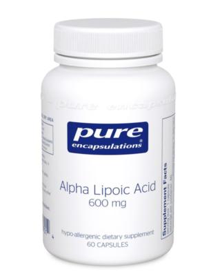 Alpha Lipoic Acid 100 mg 60 vcapsules Pure Encapsulations