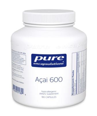 Acai 600 mg 180 capsules Pure Encapsulations