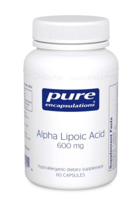 Alpha Lipoic Acid 200 mg 60 vcapsules Pure Encapsulations