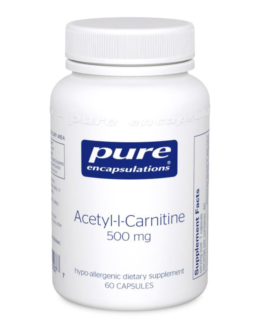 Acetyl-L-Carnitine 500 mg 60 vcaps Pure Encapsulations