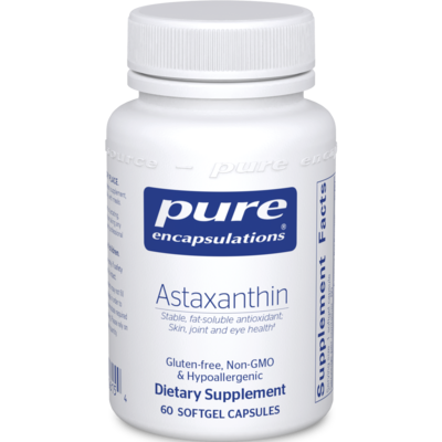 Astaxanthin 4 mg  60 gels Pure Encapsulations