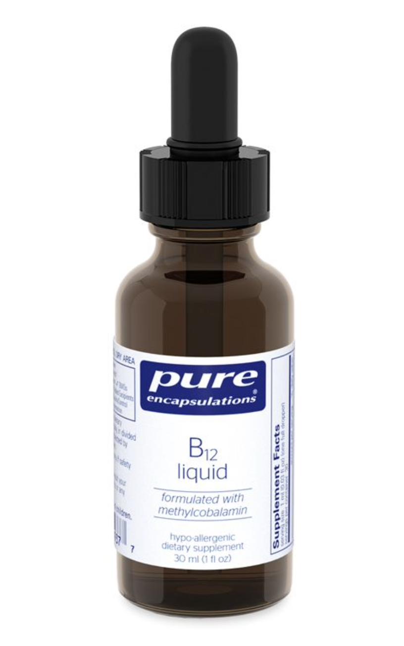 B12 Liquid 30 ml Pure Encapsulations