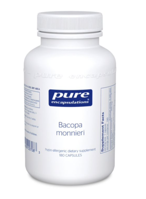 Bacopa Monnieri 200 mg 180 vcaps Pure Encapsulations