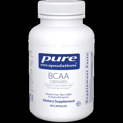 BCAA 600 mg 90 vegcaps Pure Encapsulations
