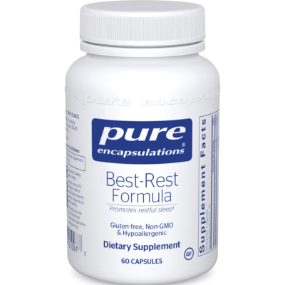 Best-Rest Formula 60 capsules  Pure Encapsulations
